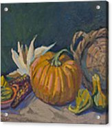 Autumn Still Life Acrylic Print