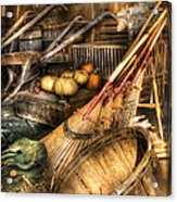 Autumn - This Years Harvest Acrylic Print by Mike Savad