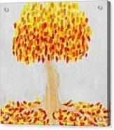 Autumn Tree Acrylic Print