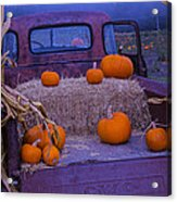 Autumn Truck Acrylic Print