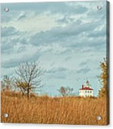Autumn Twilight Pano Acrylic Print