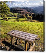 Autumn View Acrylic Print