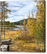 Autumn View At Spooner Acrylic Print