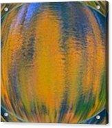 Autumn Vision Reflections Acrylic Print