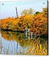 Autumn Weekend On The Delta Acrylic Print