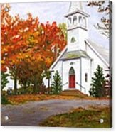 Autumn Worship Acrylic Print