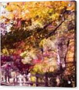 Autumn Xxxxii Acrylic Print