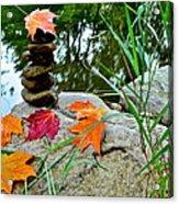 Autumn Zen Acrylic Print