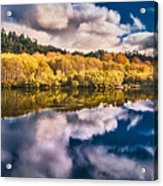Autumnal Reflections Acrylic Print