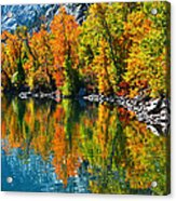 Autumn's Beauty Reflected Acrylic Print