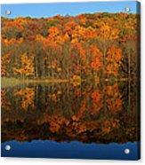 Autumns Colorful Reflection Acrylic Print