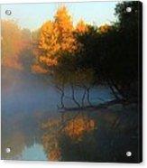 Autumn's Mist Acrylic Print