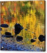 Autumns Rainbow Acrylic Print