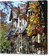 Autumn's Windows Acrylic Print