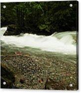 Avalanche Creek Acrylic Print