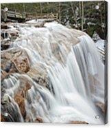 Avalanche Falls - White Mountains New Hampshire Usa Acrylic Print