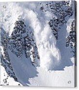 Avalanche I Acrylic Print by Bill Gallagher