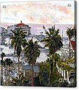 Avalon Harbor Early Morning Acrylic Print