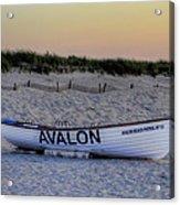 Avalon Lifeboat Acrylic Print