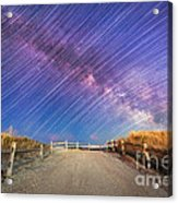 Avalon Star Trails  Acrylic Print