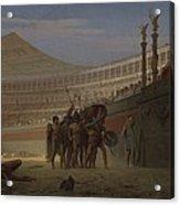 Ave Caesar Morituri Te Salutant , 1859 Acrylic Print