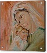 Ave Maria Acrylic Print