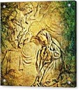 Ave Maria...gratia Plena Acrylic Print by Lianne Schneider
