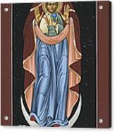 Ave Maris Stella  Hail Star Of The Sea 044 Acrylic Print