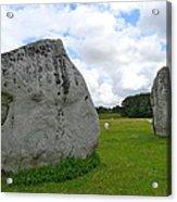 Avebury Megaliths Acrylic Print