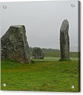 Avebury's Cove Stones Acrylic Print