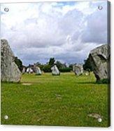 Avebury's Southern Entrance Stones Acrylic Print