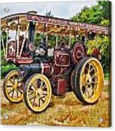 Aveling And Porter Showmans Tractor Acrylic Print