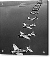 Avenger Bombers, 1943 Acrylic Print