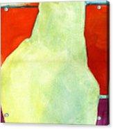 Avery Style Pear Art Acrylic Print by Blenda Studio
