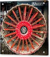 Avery Tractor Tire Acrylic Print