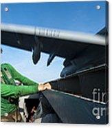 Aviation Boatswains Mate Ducks As An Acrylic Print