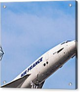 Aviation Icons - Air France Concorde Acrylic Print