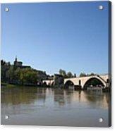 Avignon - Pont Saint Benezet Acrylic Print