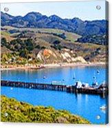 Avila Beach California Fishing Pier Acrylic Print