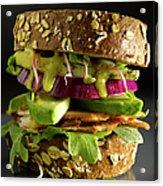 Avocado And Turkey Sandwich Acrylic Print