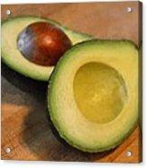Avocado Acrylic Print by Michelle Calkins