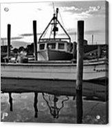 Avon Harbor Bxw 7/26 Acrylic Print