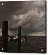 Avon Harbor Storm 7/12 Acrylic Print