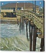 Avon Pier 6 10/10 Acrylic Print