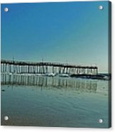 Avon Pier Reflection 39 10/2 Acrylic Print
