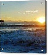Avon Pier Sunrise 6 10/17 Acrylic Print