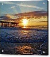 Avon Pier Surfers Paradise 9/08 Acrylic Print