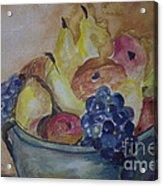 Avonelle's Fruit Bowl Acrylic Print