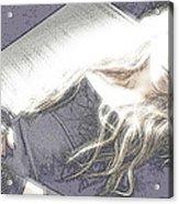 Avril Lavigne Acrylic Print