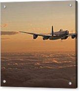 Avro Lancaster - Homeward Acrylic Print